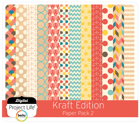 Kraft Edition Paper Pack #2