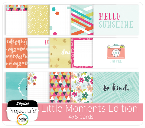 Little Moments Edition 4x6 Cards