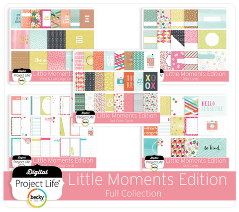 Little Moments Edition Full Collection