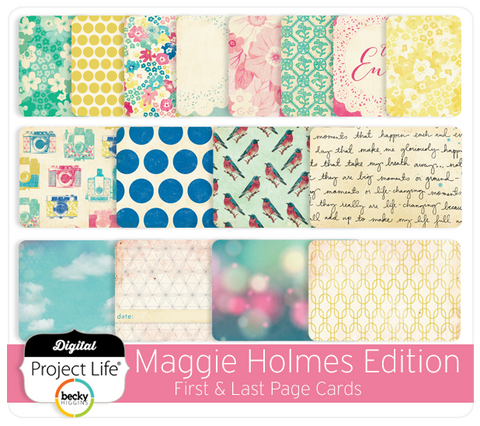 Maggie Holmes First & Last Page Cards
