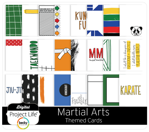 Martial Arts Themed Cards