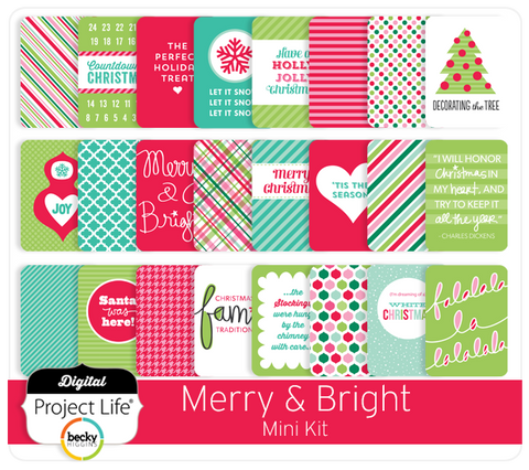Merry & Bright Mini Kit
