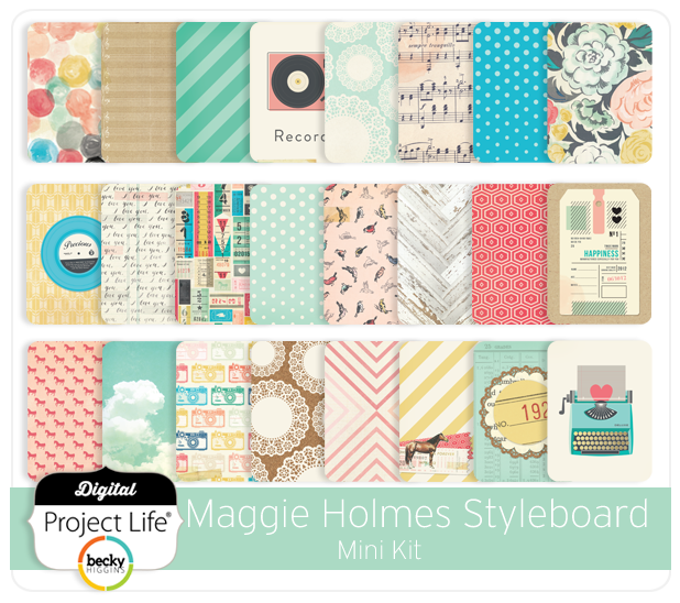Project Life Maggie Holmes Edition Mini Kit HSN Exclusive