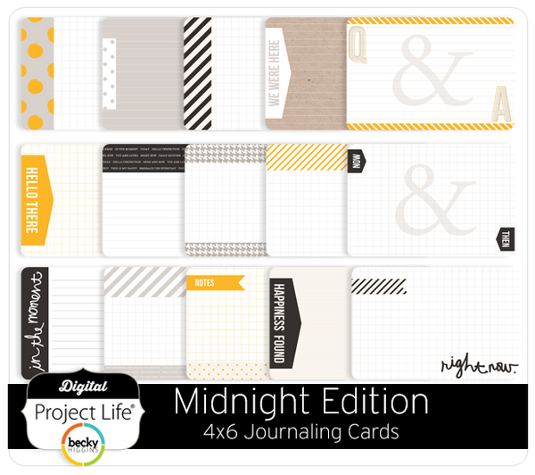 Midnight Edition Bi-Fold Cards