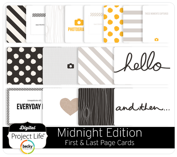 Midnight Edition First + Last Page Cards
