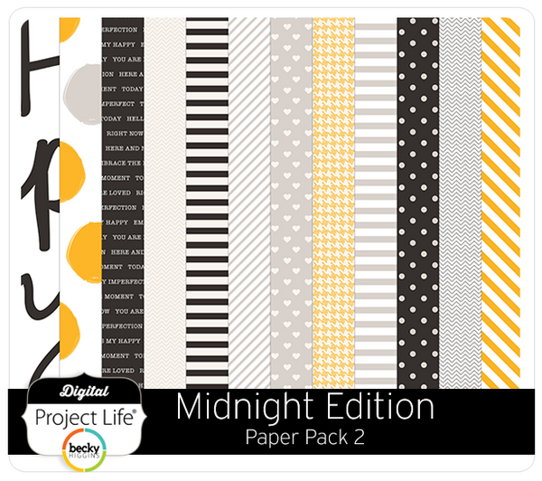 Midnight Edition Paper Pack #2