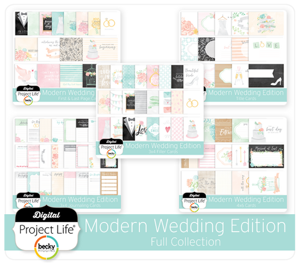 Modern Wedding Edition Full Collection