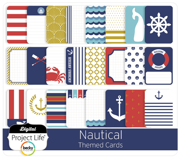 Nautical Themed Cards