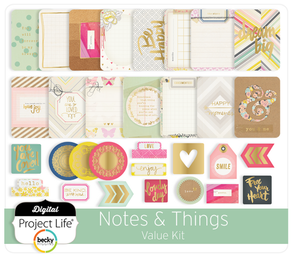 Notes & Things Value Kit