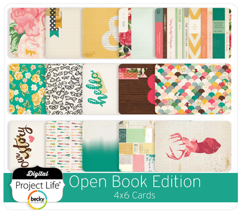 Open Book Edition 4x6 Cards