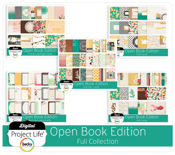 Open Book Edition Full Collection