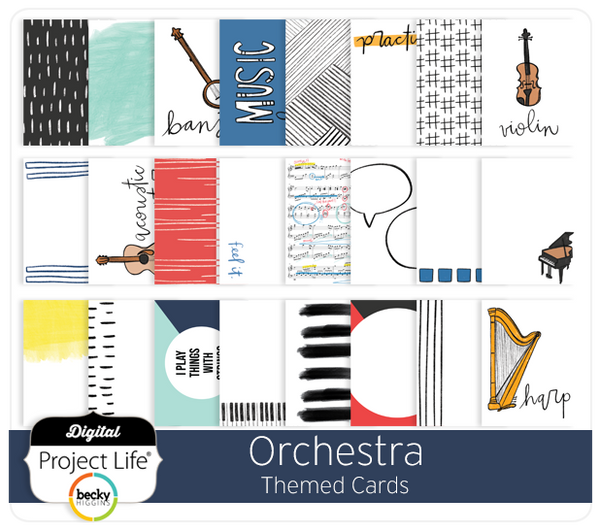 Orchestra Themed Cards