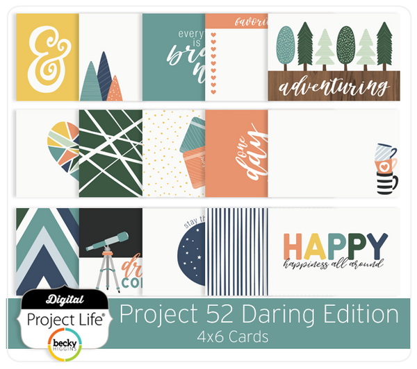 Project 52 Daring Edition 4x6 Cards