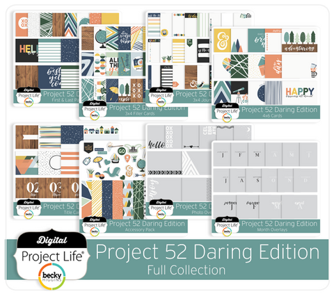 Project 52 Daring Edition Full Collection