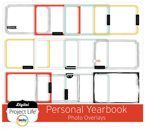 Personal Yearbook Photo Overlays