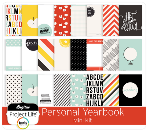 Personal Yearbook Mini Kit