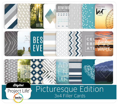 Picturesque Edition 3x4 Filler Cards