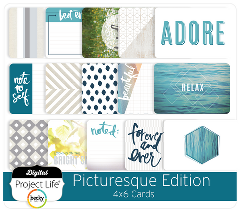 Picturesque Edition 4x6 Cards