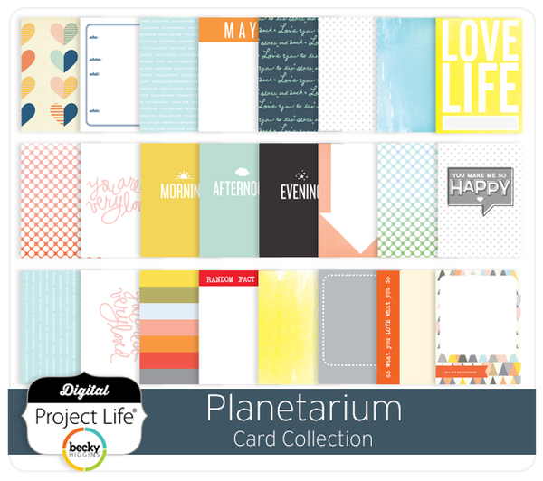 Planetarium Card Collection