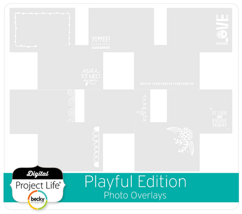 Playful Edition Photo Overlays