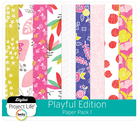 Playful Edition Paper Pack 1