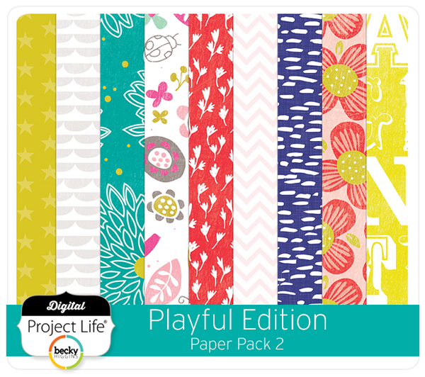 Playful Edition Paper Pack 2