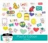 Playful Edition Stickers