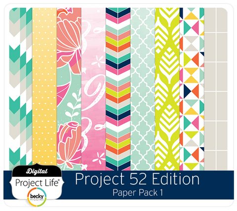 Project 52 Edition Paper Pack 1