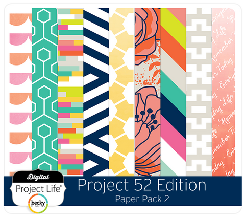 Project 52 Edition Paper Pack 2