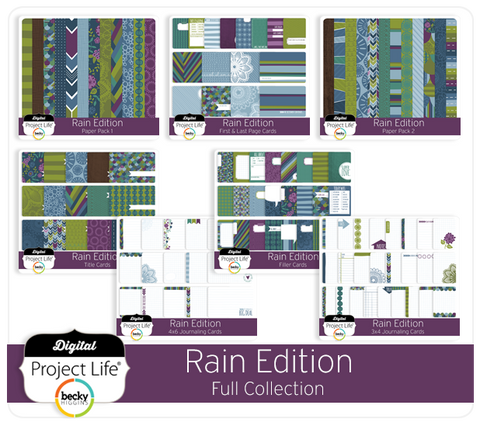 Rain Edition Full Collection