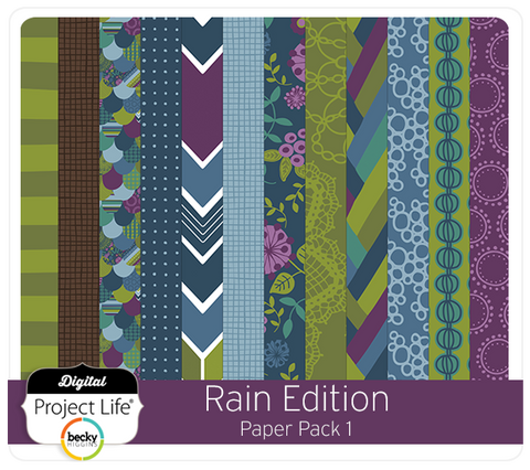 Rain Edition Paper Pack #1