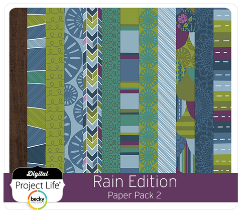 Rain Edition Paper Pack #2