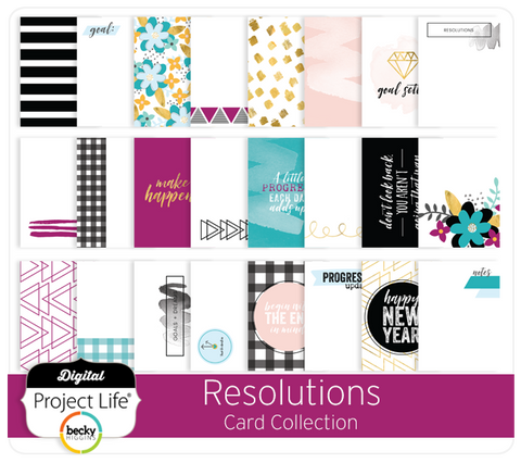 Resolutions Card Collection