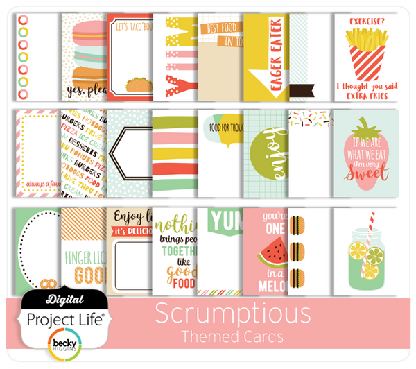 Scrumptious Themed Cards