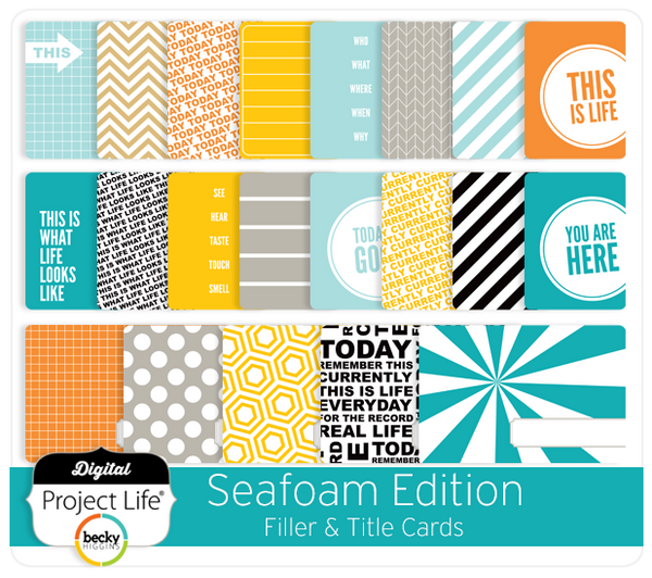Seafoam Edition Title + Filler Cards