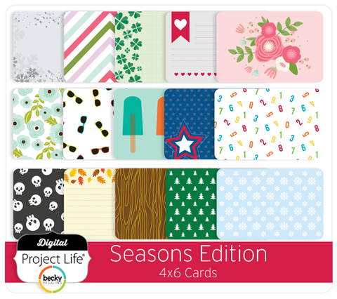 Seasons Edition 4x6 Cards