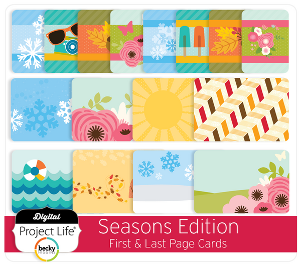 Seasons Edition First & Last Page Cards