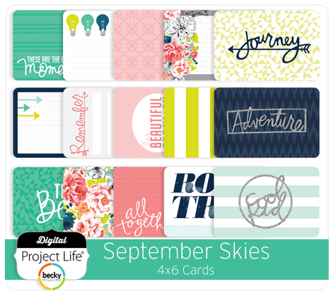 September Skies Edition 4x6 Cards
