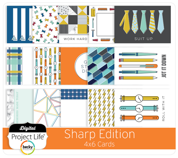 Sharp Edition 4x6 Cards