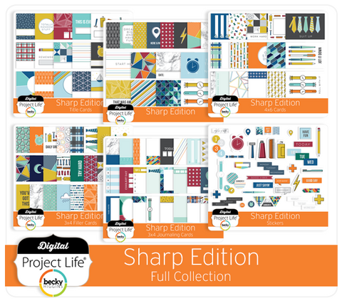 Sharp Edition Full Collection