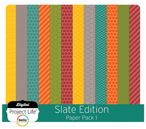 Slate Edition Paper Pack 1