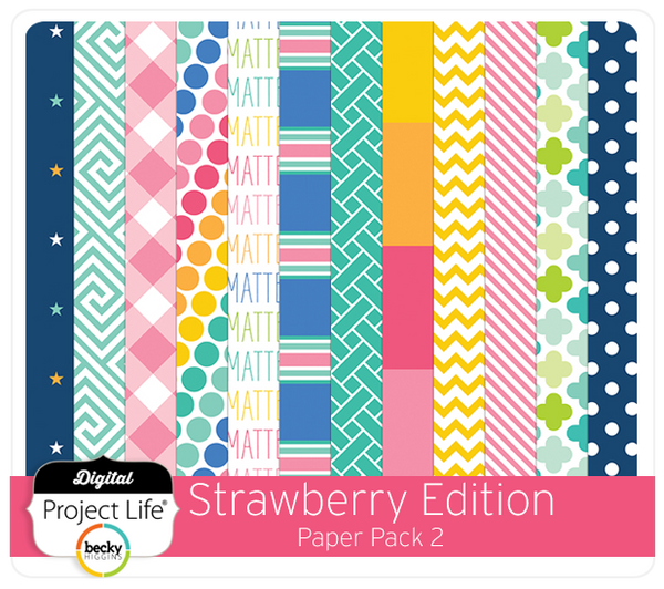 Strawberry Edition Paper Pack #2