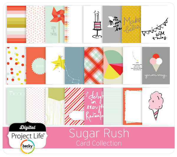 Sugar Rush Card Collection
