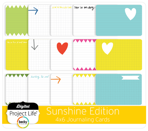 Sunshine Edition Bi-Fold Cards