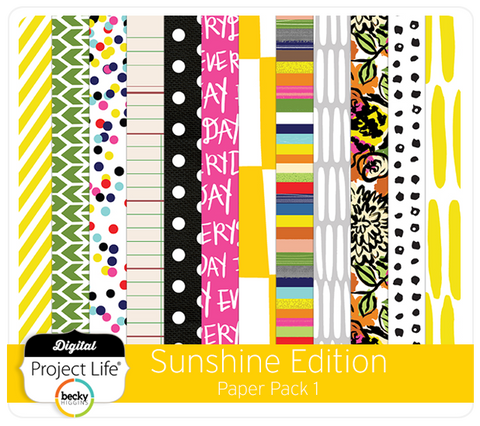 Sunshine Edition Paper Pack 1