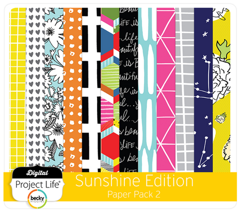 Sunshine Edition Paper Pack 2