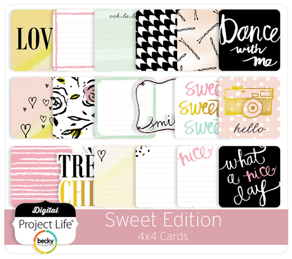 Sweet Edition 4x4 Cards