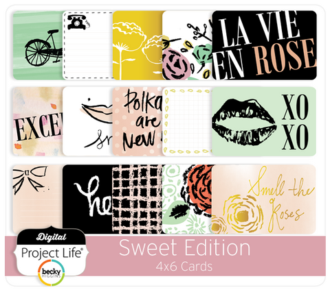 Sweet Edition 4x6 Cards