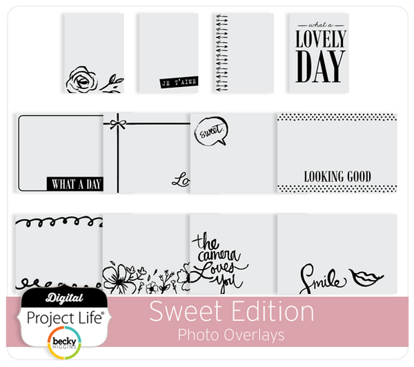 Sweet Edition Photo Overlays
