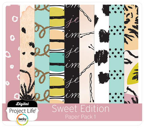 Sweet Edition Paper Pack 1